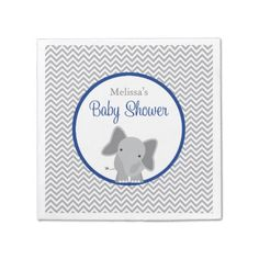 Cute Elephant Chevron Navy Blue Child Bathe Serviette. >>> Take a look at more by clicking the picture link