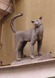 """Résultat de recherche d'images pour """"esculturas de gatos"""""""