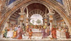 Herod's Banquet, 1486-1490  Domenico Ghirlandaio  Italian Renaissance Painting Art Renaissance Costume