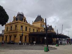 Estação de trem. Santos SP
