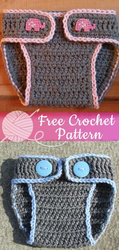 aeb735dbd53 Easy Diaper Cover  CROCHET FREE PATTERNS  - All About Crochet