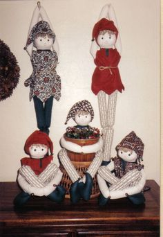 Softy Pattern Elvin 1990 Goodies from Grandma. $7.50, via Etsy.