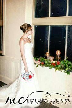 Beautiful bride at Memories Captured Photography
