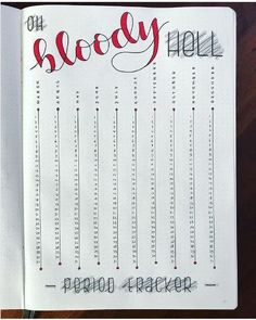 18 Genius bullet journal trackers you need to try this month Keep track of your period with this bullet journal period tracker layout. Read more to find other layout ideas for your bullet journal! 18 Genius bullet journal trackers you Bullet Journal Tracker, Bullet Journal Inspo, Bullet Journal Spreads, Minimalist Bullet Journal, Bullet Journal Notebook, Bullet Journal Aesthetic, Bullet Journal Ideas Pages, Book Journal, Bullet Journals