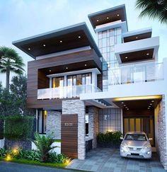 Dream house exterior, minimalist house design и modern house design. Minimalist House Design, Modern House Design, Minimalist Style, Modern House Exteriors, Amazing Architecture, Architecture Design, Modern Architecture Homes, Minimal Architecture, Creative Architecture