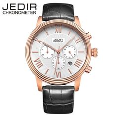 4c4efa49851 MEGIR Relogio Masculino Top Brand Luxury Men Watch Leather Strap  Chronograph Quartz Watches Clock Men Erkek Kol Saati for Mens