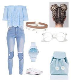 """""""Bez naslova #61"""" by laura-medved on Polyvore featuring moda, Converse, Sugarbaby, Lacoste i Miss Selfridge"""