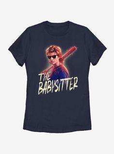 Stranger Things Steve The Babysitter Womens T-Shirt