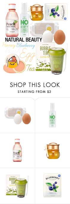 """""""Natural beauty :)"""" by beanpod ❤ liked on Polyvore featuring beauty, Skinfood and SkinCare"""