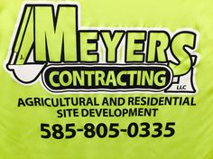 One of our newest customers this summer is Meyers Contracting! #design #custom #graphicdesign #embroidery #screenprinting #tshirt #apparel #artwork