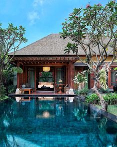 Perched high atop a cliff in #Bali your private pool villa awaits  Mandapa a #RitzCarlton Reserve is this years #TravelersChoice winner for top hotel in all of #Asia. Visit the link in our bio to see the full list!