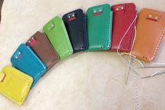 Savior Classic Leather iPhone Sleeve  by Savior Brand Co