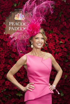 Derby hats: the definition of peacocking. Here are the fine and feathered best!
