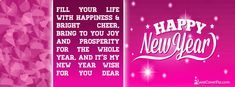 pink happy new year 2016 New Year Quotes For Friends, Happy New Year Quotes, Happy New Year 2016, New Years 2016, Quotes About New Year, New Year Wishes, Wishes For You, Happy Quotes, Beautiful Facebook Cover Photos