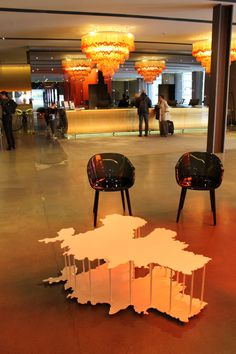Mykonos coffee table by Francescon Sisters - Going Place exhibition at Nhow Milano