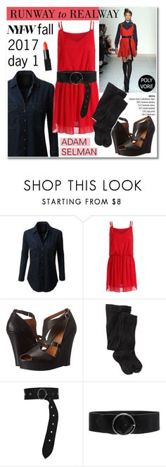 """""""NYFW Fall 2017 day 1/Runway to Realway"""" by helenevlacho ❤ liked on Polyvore featuring BC Footwear, Smartwool, Dorothee Schumacher, IRO and NARS Cosmetics"""