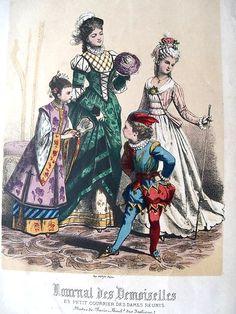 1872 Journal des Demoiselles