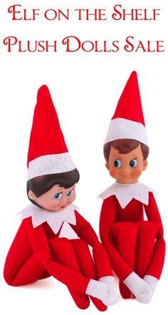 Elf on the Shelf Plush Dolls Set of Two Sale! |  TheFrugalGirls.com