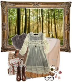 """Mori girl"" by little-miki on Polyvore"