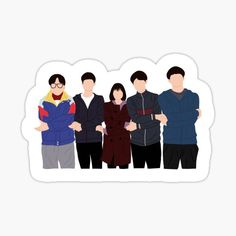 Pop Stickers, Printable Stickers, Korean Art, Korean Drama, Instagram Emoji, Korean Stickers, Drama Funny, W Two Worlds, Character Wallpaper