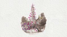 Paper Fashion: NYC in Bloom by PAPERFASHION. Illustrated animation done in collaboration with Miracle Gro to promote their GRO1000 project.