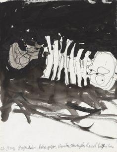 Georg Baselitz — Untitled, 18.VIII.2013, 2013