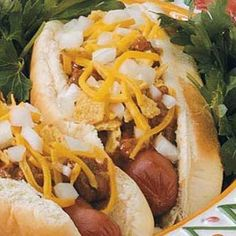"""Bandito Chili Dogs: Makes a lot of chili sauce but that's a good thing cause it goes well with fries and left over """"corn chips."""""""
