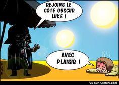 Images Fun N°6998 - Rejoins le côté obscur Luke !