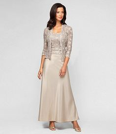 Mother of the Bride Dress, Alex Evenings - Available at Dillards.com #Dillards