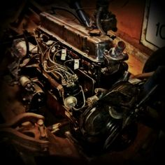 ELECTRIC  L6 Engine Wiring    Diagram       60s Chevy C10  Wiring   Electric   Pinterest   Engine