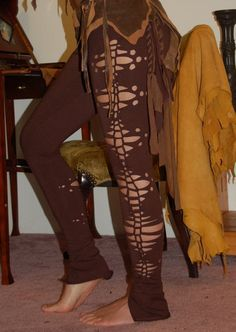Pandora Pants   brown by ElvenForest on Etsy, $68.00