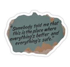 One Tree Hill quote Stickers