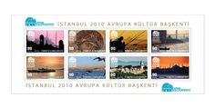 Turkey Stamps Istanbul 2010 European Cultural Capital