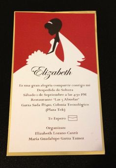 Invitaciones y detalles sociales
