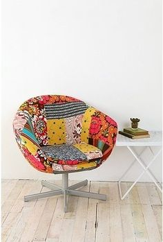 UrbanOutfitters.com > Patchwork Chair - StyleSays