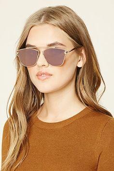 Mirrored Cutout Sunglasses