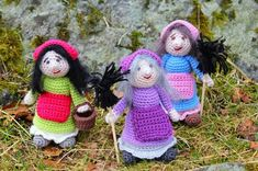 Steen in the cottage: free patterns Easter Projects, Knitted Animals, Easter Crochet, Holiday Traditions, Some Ideas, Double Knitting, Spring Crafts, Free Pattern, Teddy Bear