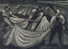"""Mending Nets"" Elizabeth Olds"