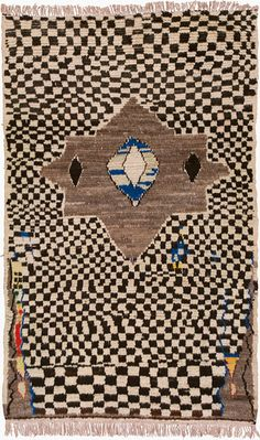 "Tazenakht Carpet, 7'0"" × 4'5"""
