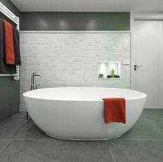 Molins Interiors // arquitectura interior - interiorismo - decoración - baño - bathroom - dormitorio - suite - master - room - bañera - bathtub - open space - white - blanco
