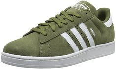 release date 3d7e3 a375c adidas Originals Men s Campus 2 Lifestyle Basketball Sneaker, Olive Cargo  White Olive Cargo, M US