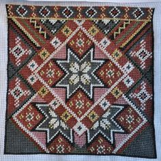 Bilderesultat for rukkastakk Ål Hardanger Embroidery, Bead Crochet Rope, Scandinavian Art, Folk Costume, Needlepoint, Cross Stitch Patterns, Bohemian Rug, Weaving, Tapestry