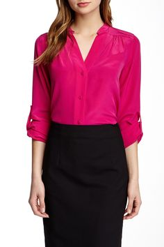 Harlow Silk Blouse by Diane von Furstenberg on @nordstrom_rack