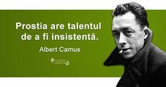 Albert Camus, Funny Inspirational Quotes, Funny Quotes, Philosophy, Spirit, Humor, Reading, Memes, Happy