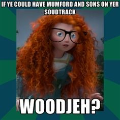 Welcome to the newest hipster Disney princess: Merida!