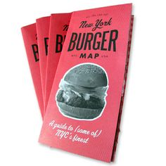 Image of New York Burger Map