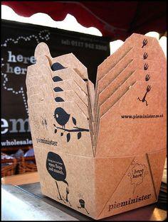Pie packaging by u m a m i, via Flickr