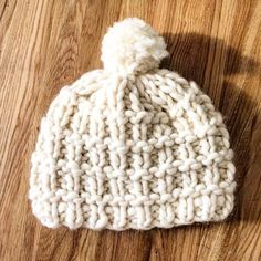 Look at that stitch. The perfect knitting hat!
