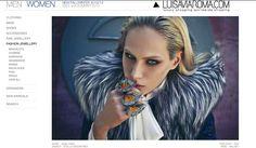 """www.luisaviaroma.com    The 3 """"DEMETRA"""" rings by HALABY"""