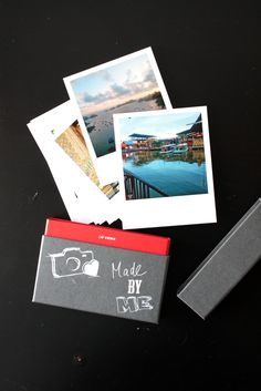 DIY Foto-Leporello im Polaroid Style